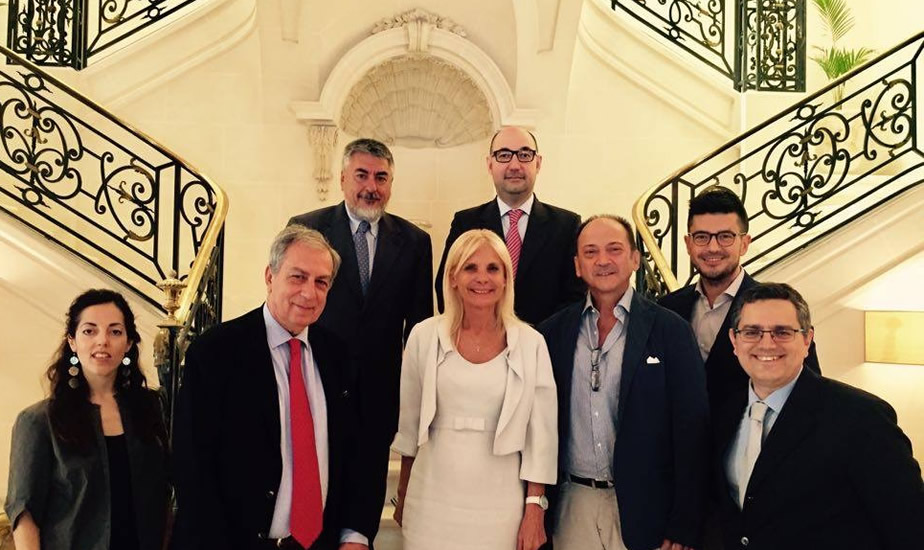UMETECH board at the Italian Embassy in Buenos Aires