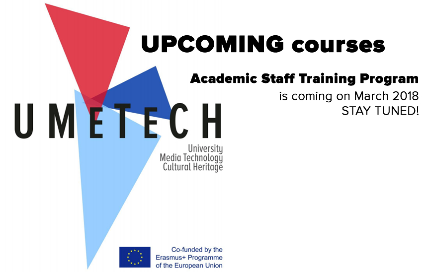 Academic staff training program is about to start!