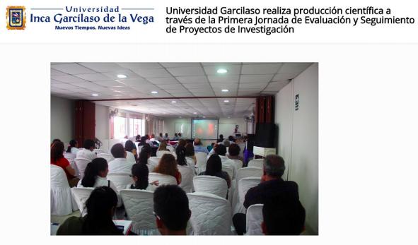 Jornada de Exposición de Trabajos de Investigació