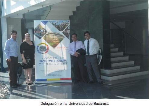 Delegación de UIGV recibe capacitación en Rumania